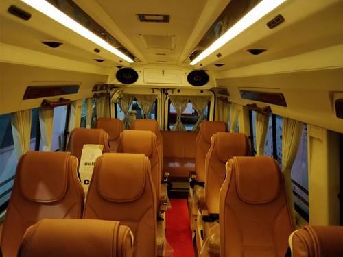 Luxury Tempo Traveller Services