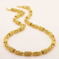 Gold Plated Metal Chain