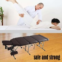 Stainless Steel Portable Chiropractic Bed