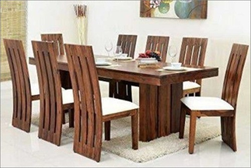 Wood Wooden 8 Seater Dining Table At Price Range 7000 00 15000 00 Inr Set In Jodhpur Id 5703584