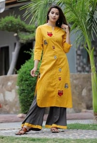 Ladies Pure Cotton Designer Kurta