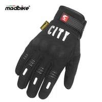 Madbike City Leather Gloves