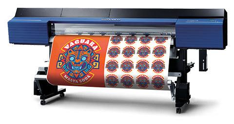 ROLAND TrueVIS VG2-640 Large-Format Inkjet Printer, Cutters