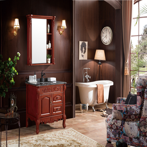 Classic Wooden Bathroom Cabinet