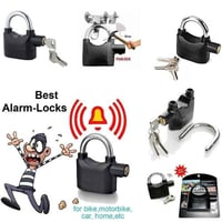 Anti Theft Security Pad Lock With Smart Alarm