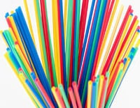 Colorful Drinking Plastic Straw