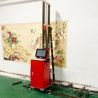 Fast Print Large Format Wall Printer to Print Directly On The Wall