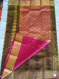 Silk Cotton Sarees With Blouse