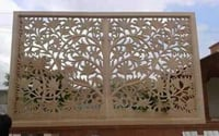 Decorative CNC Grill Design