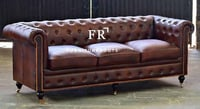 Leather Sofa For Hotel