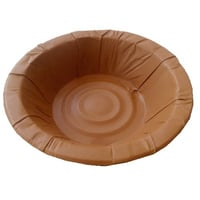 Brown Disposable Paper Dona