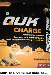 (QUK CHARGE) Energy Drink