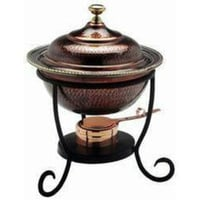 Round Shape Copper Chafing Dish