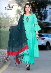 Anarkali Style Ladies Kurti