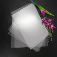 High Quality 0.5mm Frosted Plastic PET Thin Sheet