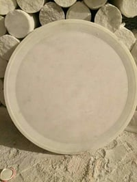 Round Marble Serving Tray
