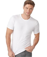 Cotton Spandex Blend Mens T Shirts