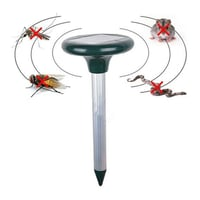 Outdoor Ultrasonic Pest Vibration Snakes Repellent