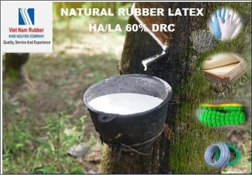 Centrifuged Natural Rubber Latex HA, LA 60% DRC