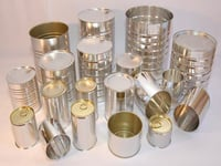 Metal Empty Tin Cans