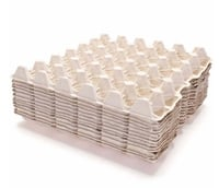 Square Pulp Egg Trays