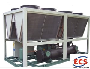 Air Cooled Screw Chiller 100 TR Double CKT
