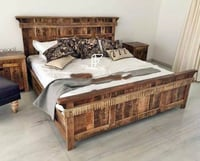 Finely Polished Hotel Bed