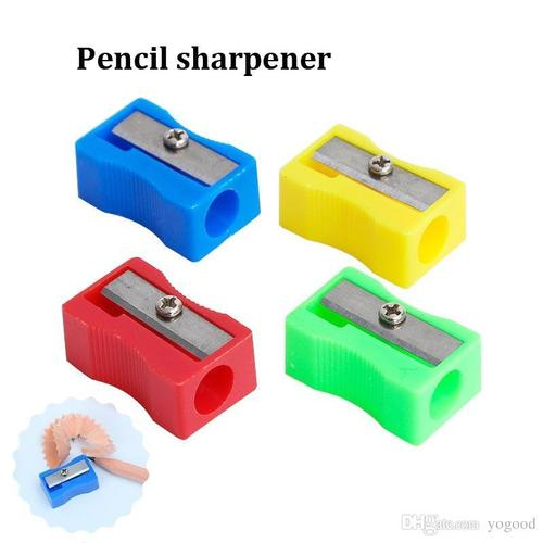 Metal and Plastic Pencil Sharpener