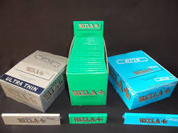 Rizla Rolling Paper, Blue, Red, Green, Silver