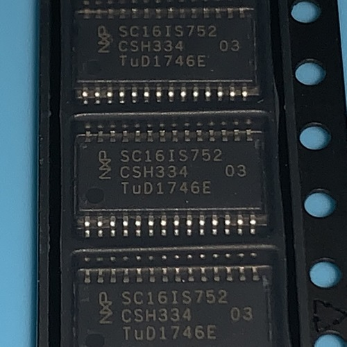 SC16IS752IPW,112 UART Interface IC UART DUAL