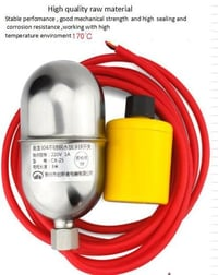 High Temperature Stainless Steel Mercury Float Switch