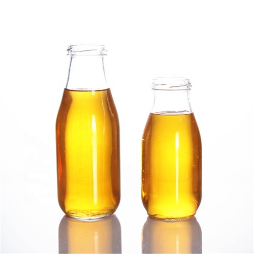 Juice Glass Transparent Bottle