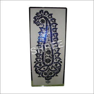 Crafted Glass Panel