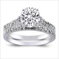 Engagement Silver Rings