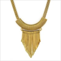Gold Plated Costume Necklace
