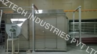 SS Walk Touch Up Booth For Powder Coating