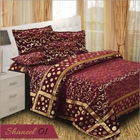 Red Chenille Bedspread