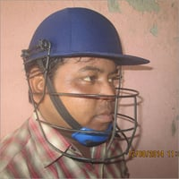 Plastic Moulded Cricket Helmet