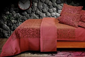Cotton Jacquard Bed Cover