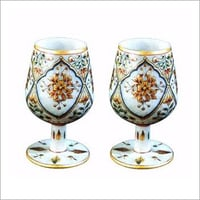 Marble Drink Glasses