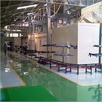 Erection of Floor Conveyors System
