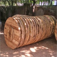 Wooden Reel Drum