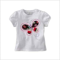 Embroidered Girls T Shirts