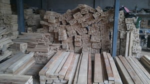 Chemically Treated Rubber Wood