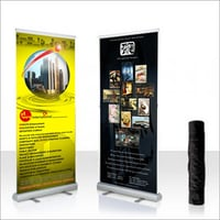 Banner Roll Up Stand