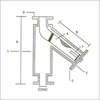 Fabricated Y Strainer