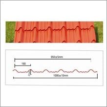 Clay Tile Profile Panel Insulated Sheet