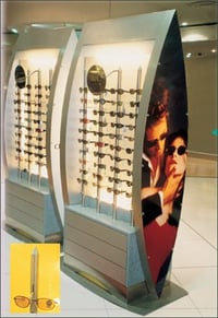 Goggle & Spectacle Display Unit