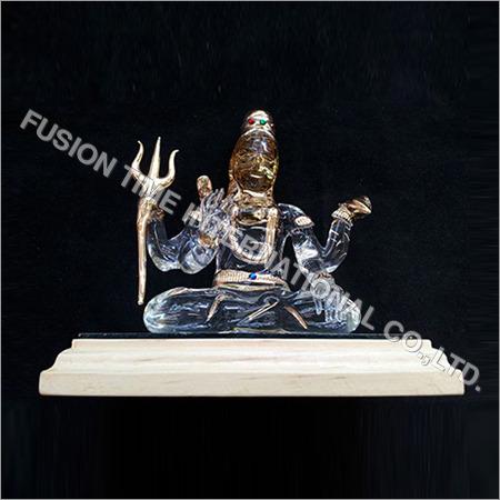Glass Shiva Idols
