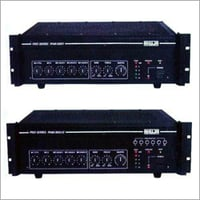 Installation PA Amplifiers